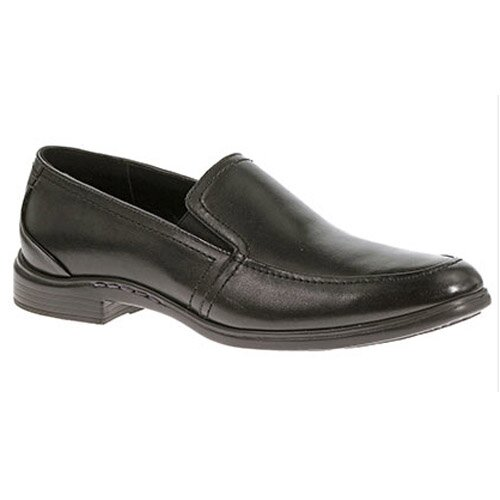 HUSH PUPPIES 1246 ABEL TRANSPORT BLACK LEATHER