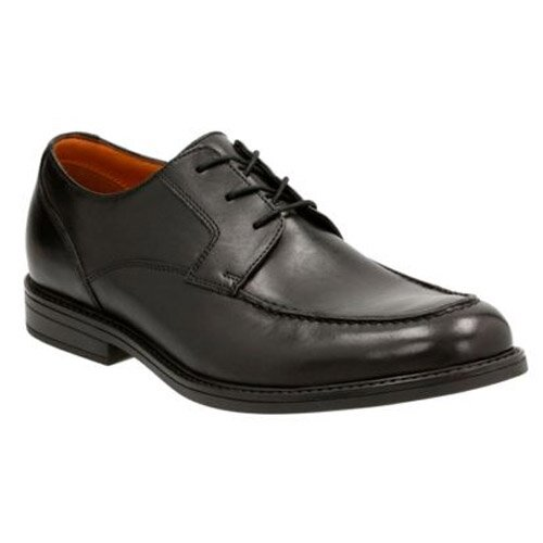 258a7534604 CLARKS BECKFIELD APRON BLACK 26120097 | Must Shoes