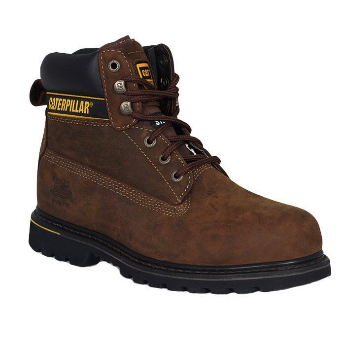 CAT 708029 HOLTON S3 HRO SRC BROWN (STEEL TOE)
