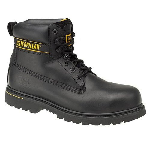CAT 708026 HOLTON BLACK (STEEL TOE)