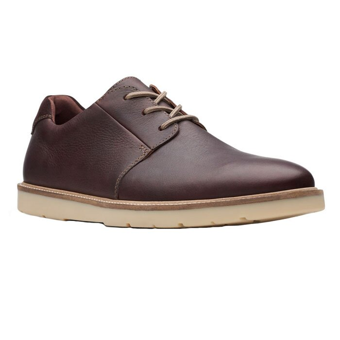 CLARKS GRANDIN PLAIN DARK BROWN 26141923