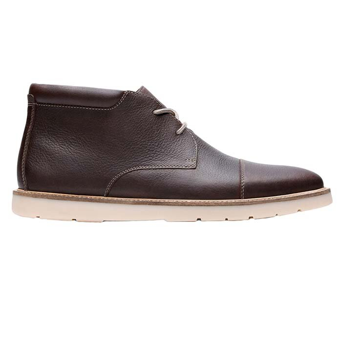 CLARKS GRANDIN TOP DARK BROWN 26146390