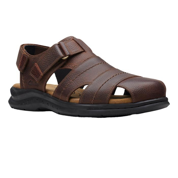 CLARKS HAPSFORD COVE BROWN 26158013