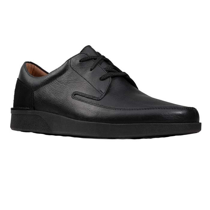 CLARKS OAKLAND CRAFT BLACK 26148059