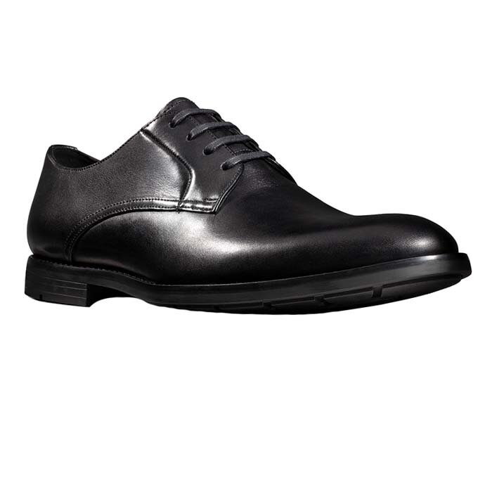 CLARKS RONNIE WALK BLACK 26143810