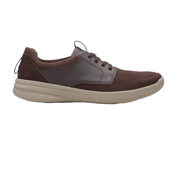 CLARKS STEPSTROLL LACE BROWN 26148978