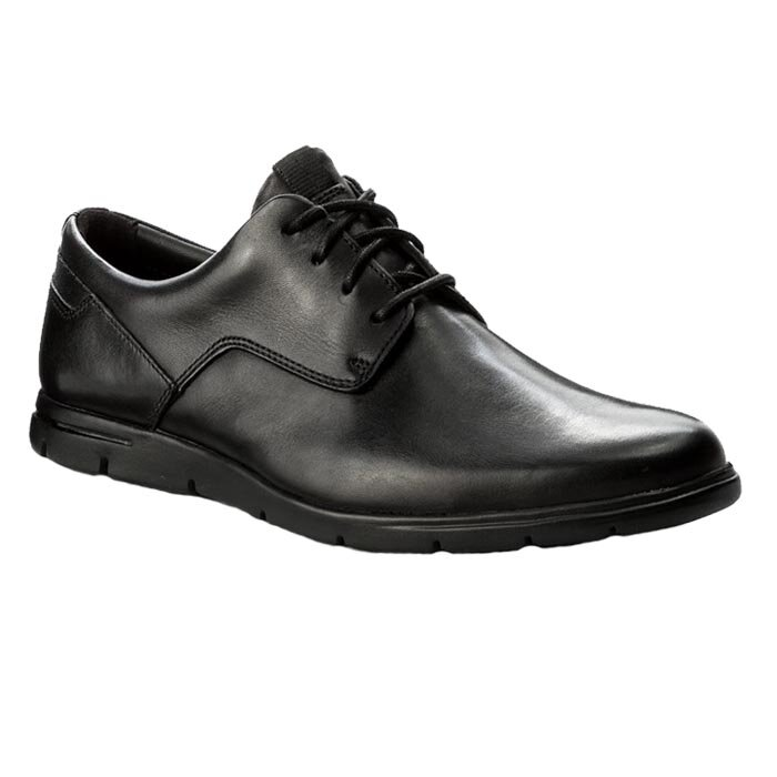 CLARKS VENNOR WALK BLACK 26131748