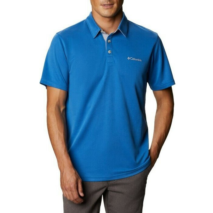 COLUMBIA EO0035-432 ΜΠΛΟΥΖΑ POLO NELSON POINT BLUE