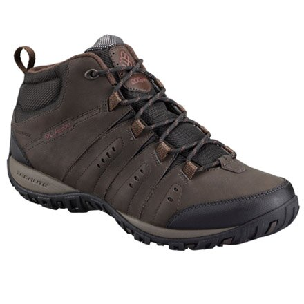 COLUMBIA BM3926-231 WOODBURN II CHUKKA WP OMNI HEAT BROWN
