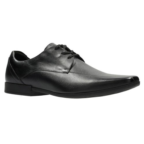CLARKS GLEMENT OVER BLACK 26127170 classic και αμπιγιέ
