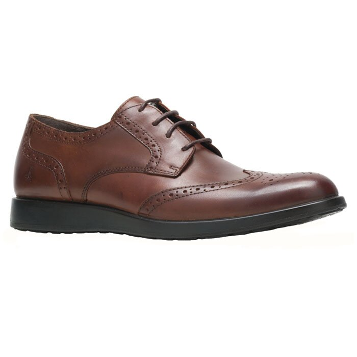 HUSH PUPPIES HM02162-201 VITRUS WT OXFORD D. BROWN