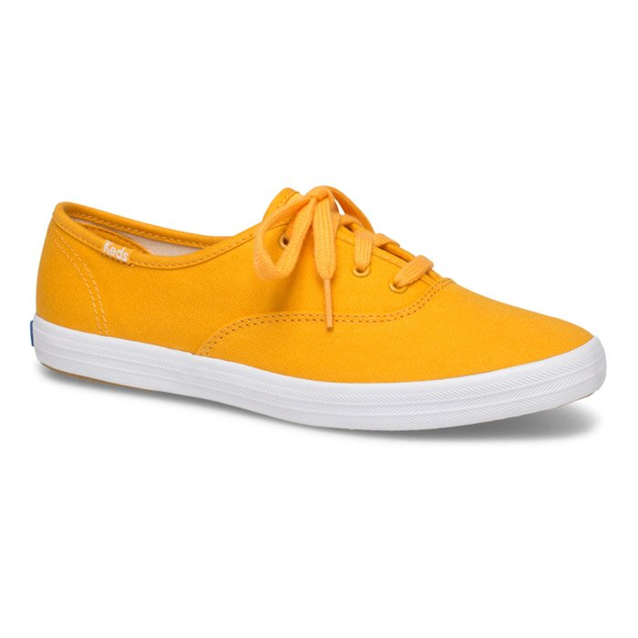 KEDS WF62904 CHAMPION CANVAS YELLOW