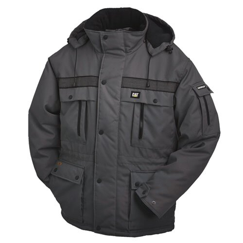 CAT ΜΠΟΥΦΑΝ HEAVY INSULATED PARKA GRAPHITE
