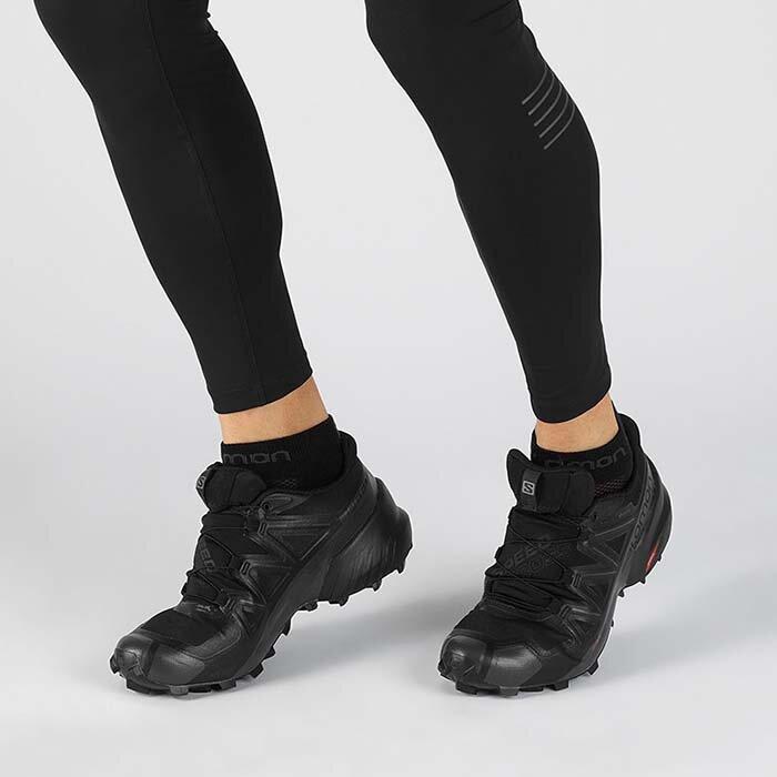 SALOMON 407953 SPEEDCROSS 5 GTX BLACK PHANTOM   Must Shoes