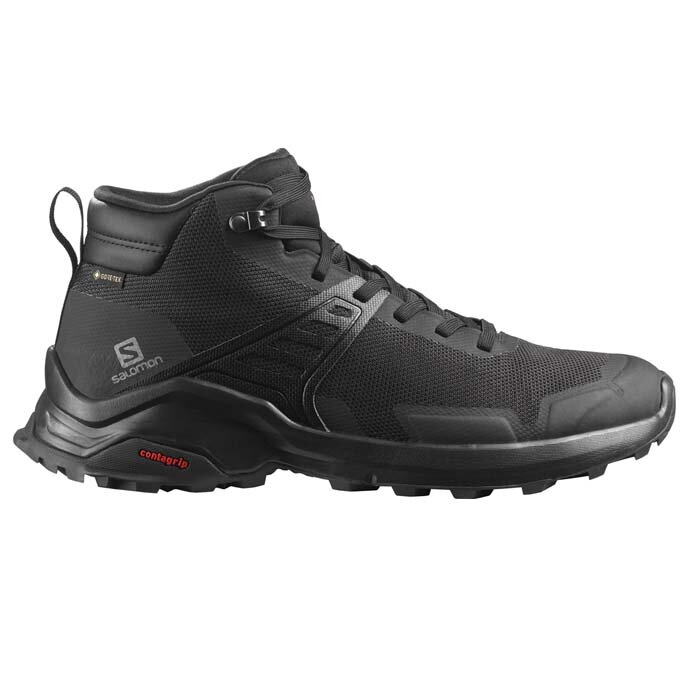 SALOMON 410957 X RAISE MID GTX BLACK